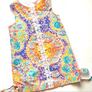 {Lilly Pulitzer} Size 5 Written in the Sun Shift